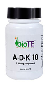 bioTE ADK 10 Dietary Supplement